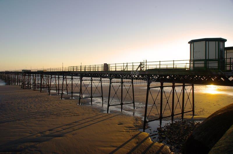 Ramsey Pier stockfotografie