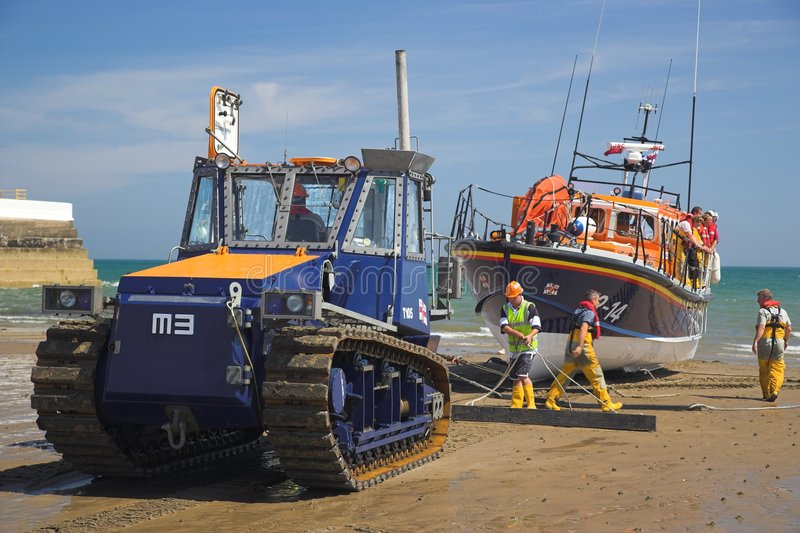 Ramsey Rettungsboot stockfoto