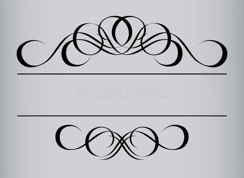 ramstiltappning royaltyfri illustrationer