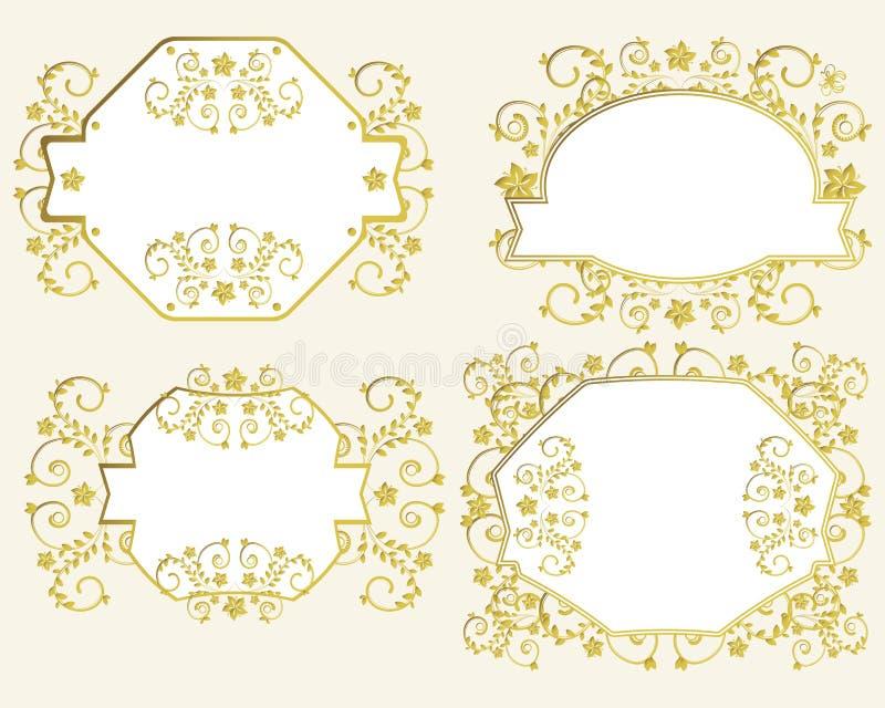 ramtappning royaltyfri illustrationer