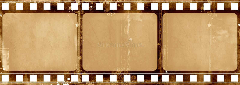 ramy film crunch royalty ilustracja
