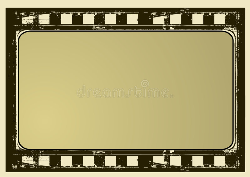 ramy film crunch ilustracja wektor
