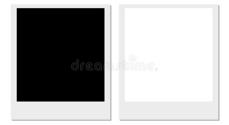 ramy film polaroid ilustracji