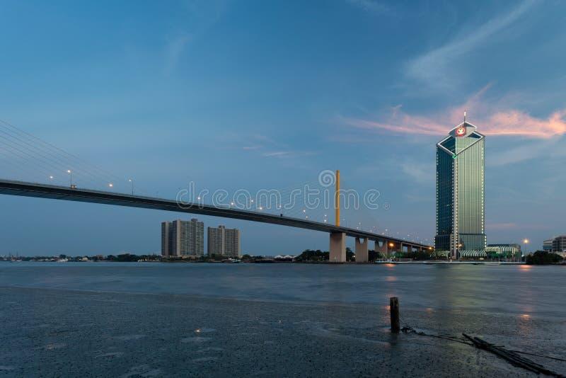 Ramy IX most, Bangkok obrazy stock