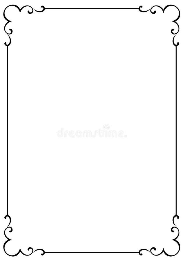 ramy jpg eps dekoracyjny royalty ilustracja