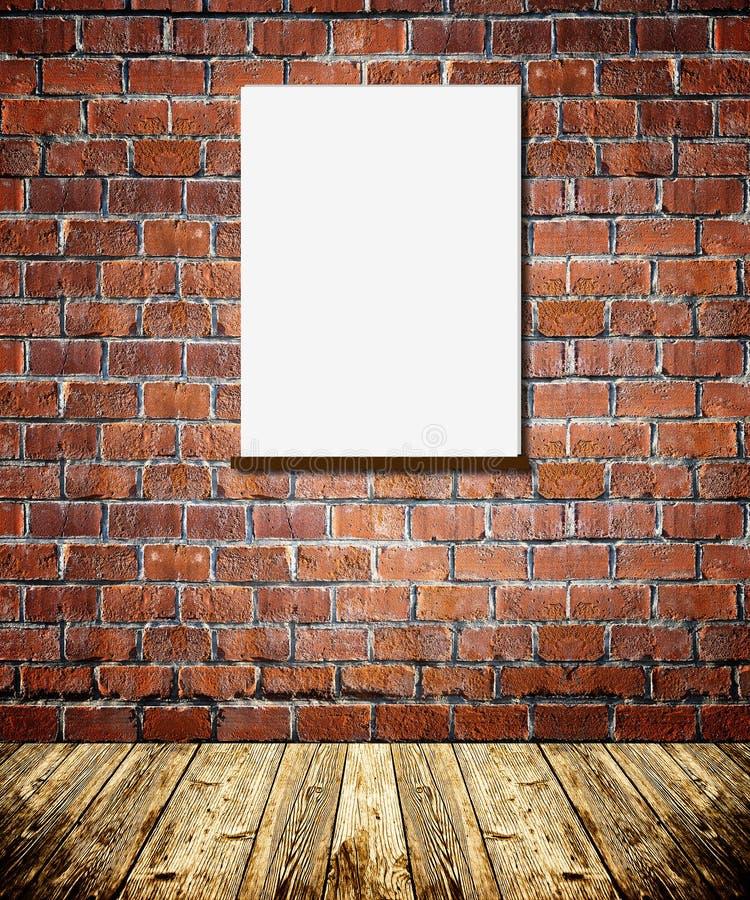 Ramy na ściana z cegieł fotografia stock
