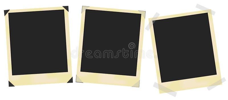 ramy starzejąca się fotografia ilustracji