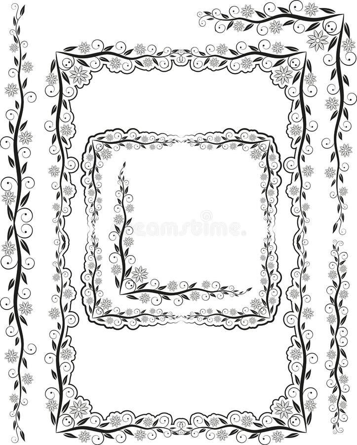Download Ramy sylwetka ilustracja wektor. Obraz złożonej z krzywy - 23102635