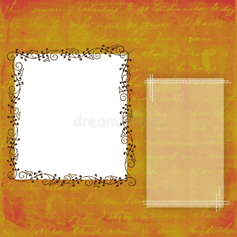 ramy tło ilustracji