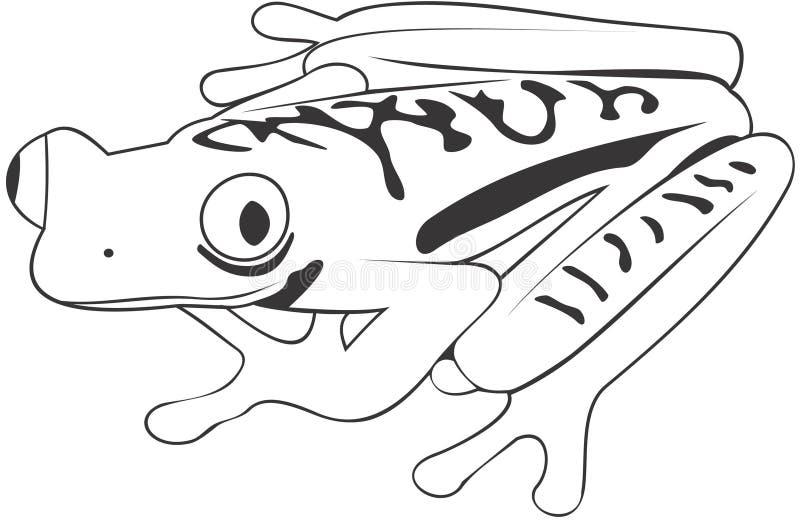 Rana illustrazione di stock