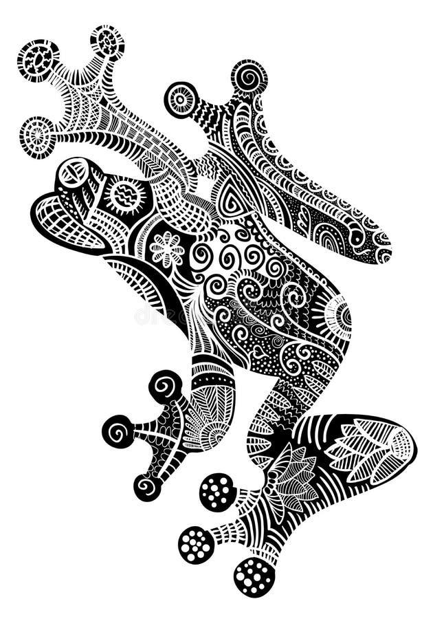 Rana libre illustration