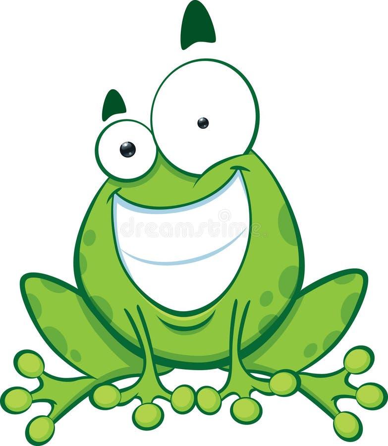Rana feliz libre illustration
