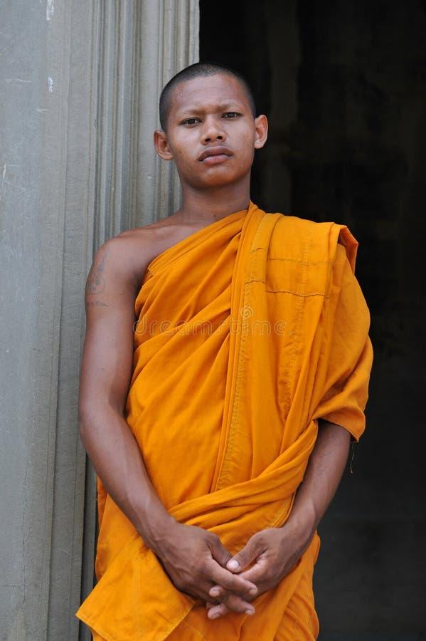 Rana pescatrice buddista fotografia stock libera da diritti