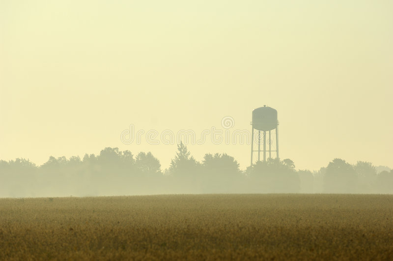 rana wieży wody zdjęcia royalty free