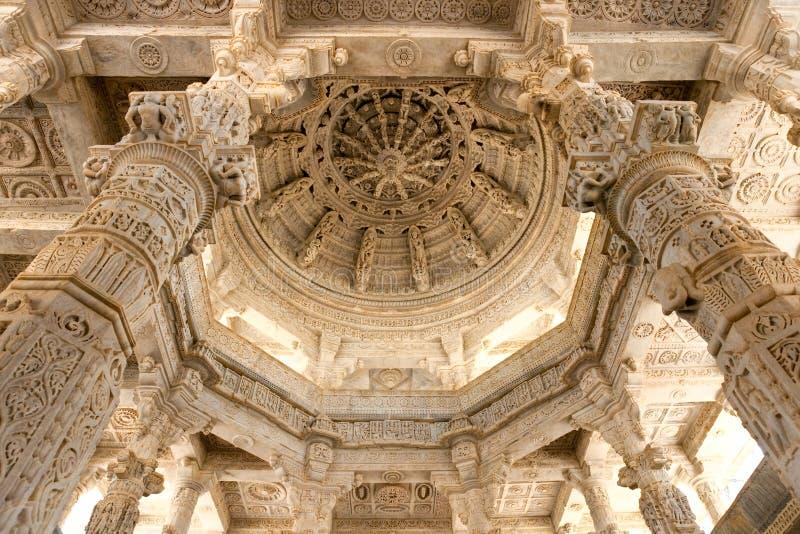 Ranakpur jain Tempel, Rajasthan. lizenzfreie stockfotografie