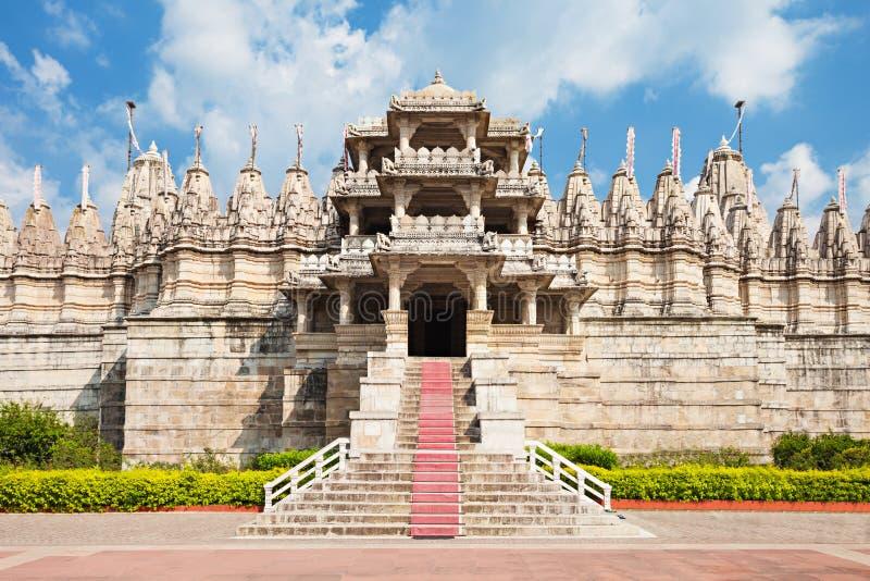 Ranakpur-Tempel, Indien lizenzfreie stockbilder