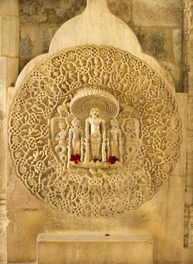 Ranakpur Temple royalty free stock photography