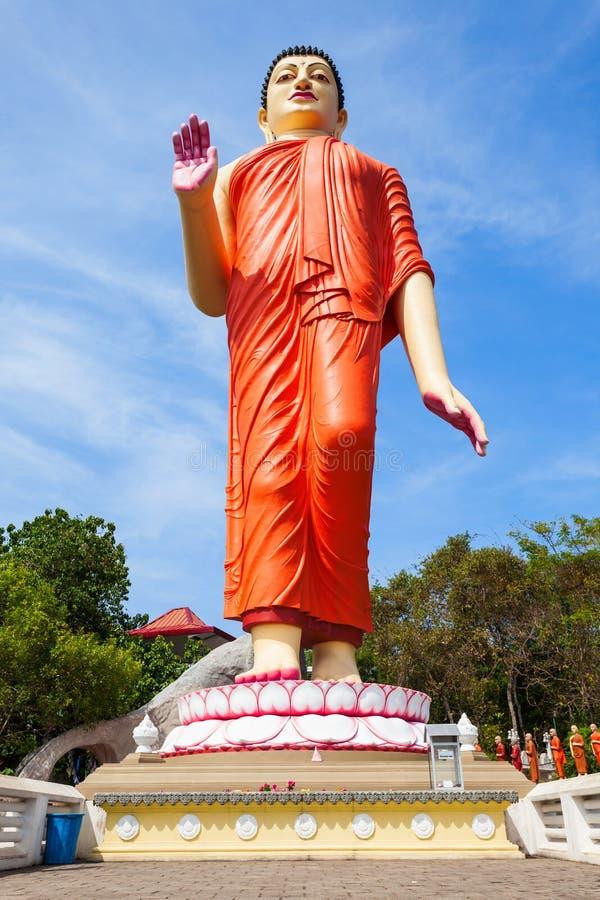 Ranawana Purana Rajamaha Viharaya. Buddha monument at the Ranawana Purana Rajamaha Viharaya. Ranawana Purana is a buddhist temple near Kandy city, Sri Lanka stock photos
