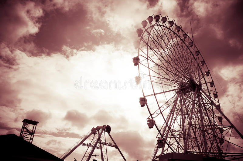 Ranch del cielo, Tagaytay fotografie stock