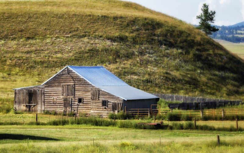 Ranch del Dakota fotografia stock libera da diritti