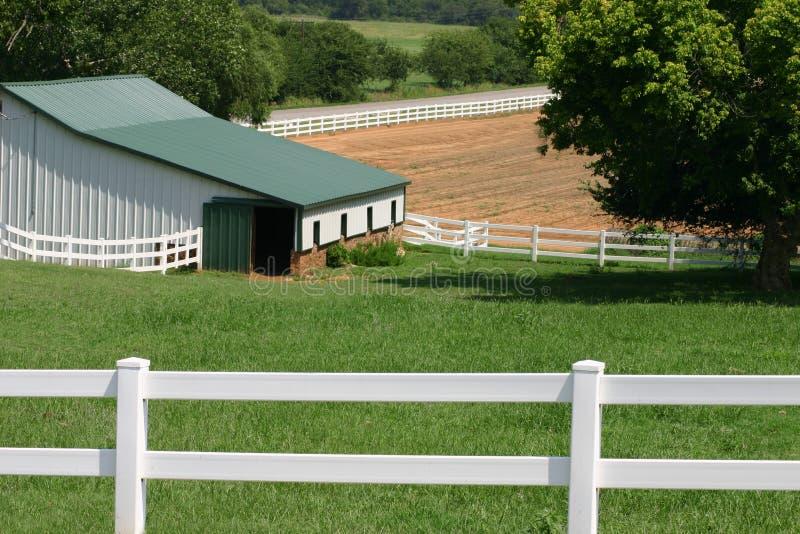 Ranch dell'Oklahoma immagini stock