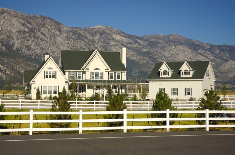 Ranch-Haus lizenzfreie stockfotografie