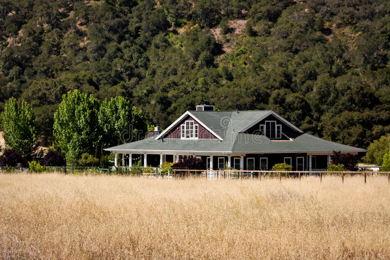 Ranch House Stock Photography