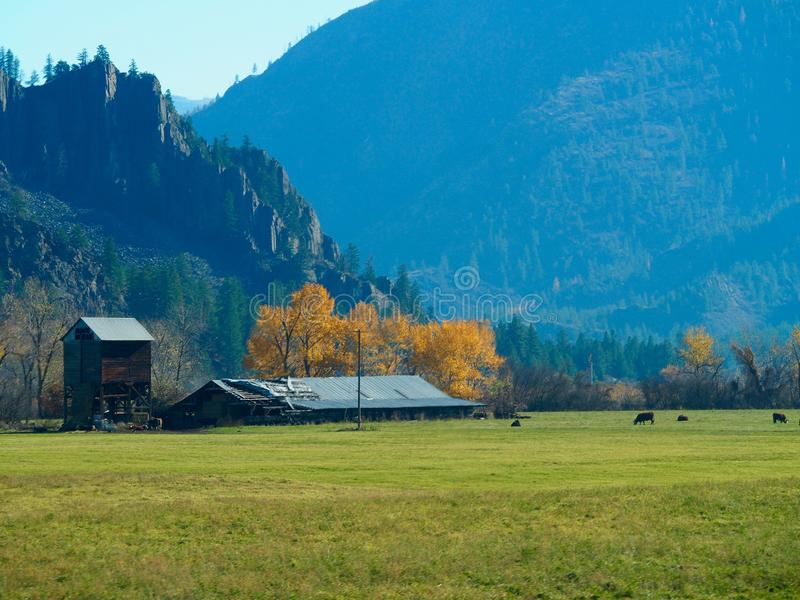 Ranchland Montana imagen de archivo libre de regalías