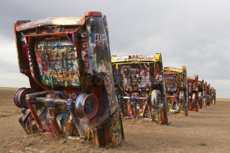 Rancho de Cadillac foto de archivo libre de regalías