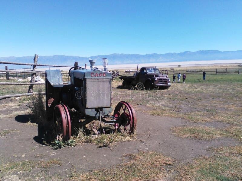 Rancho de Garr que coloca fotografía de archivo