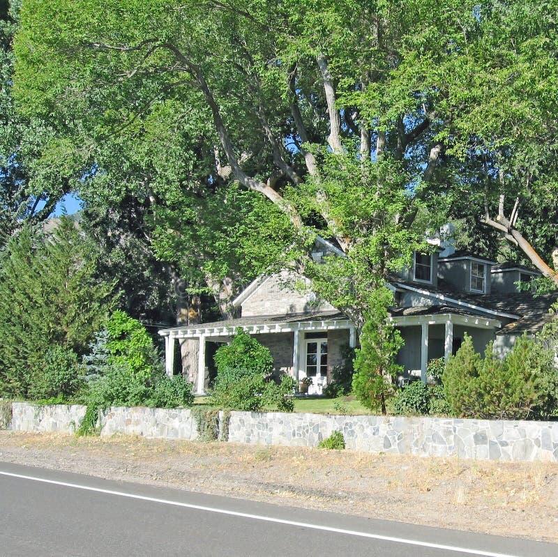 Rancho dom zdjęcie stock