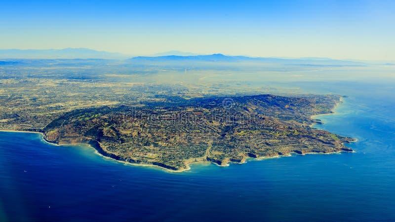Rancho Palos Verdes от верхней части стоковые изображения
