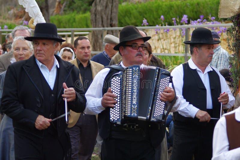 Rancho português do folclore foto de stock royalty free