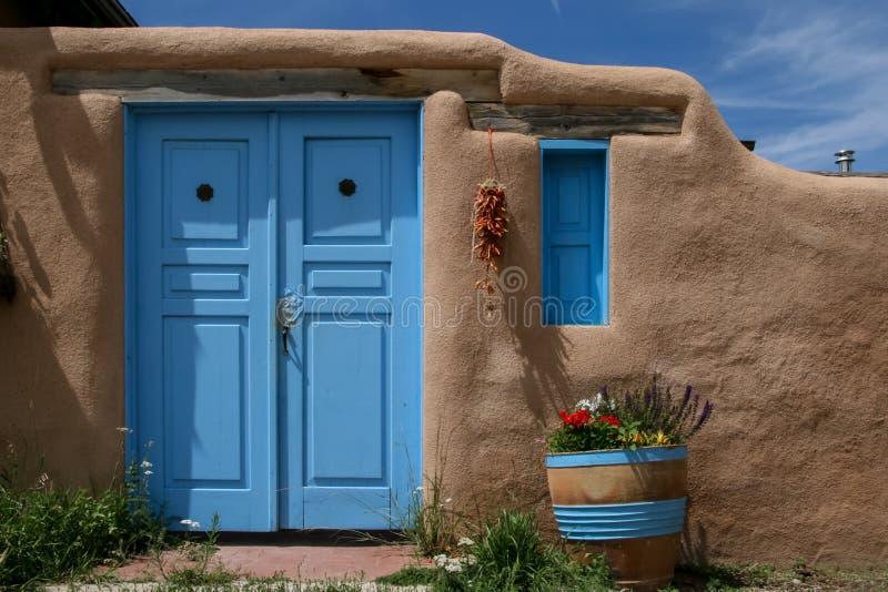 Ranchos de Taos i nytt - Mexiko arkivbilder