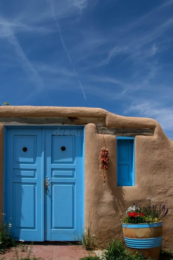 Ranchos de Taos i nytt - Mexiko royaltyfri foto