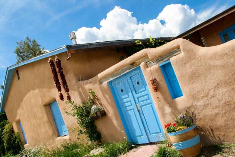 Ranchos de Taos i nytt - Mexiko arkivbild