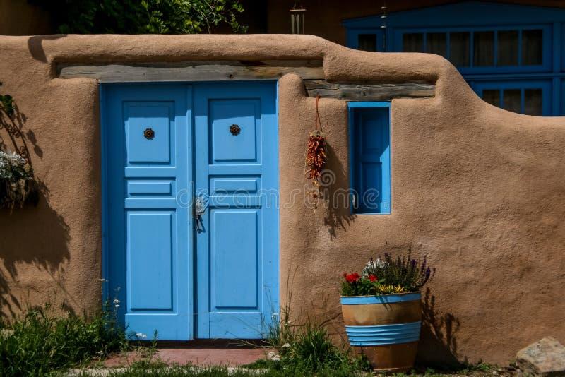 Ranchos de Taos in New Mexico stock photo