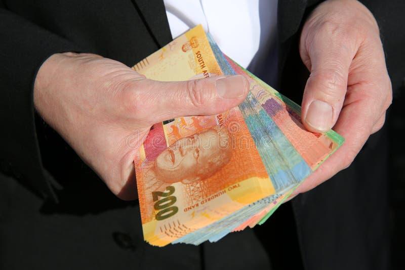 Rand Banknotes sudafricano fotografie stock libere da diritti