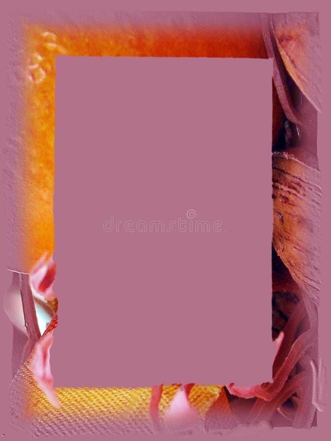 Rand: Lavendel-Fall lizenzfreie abbildung