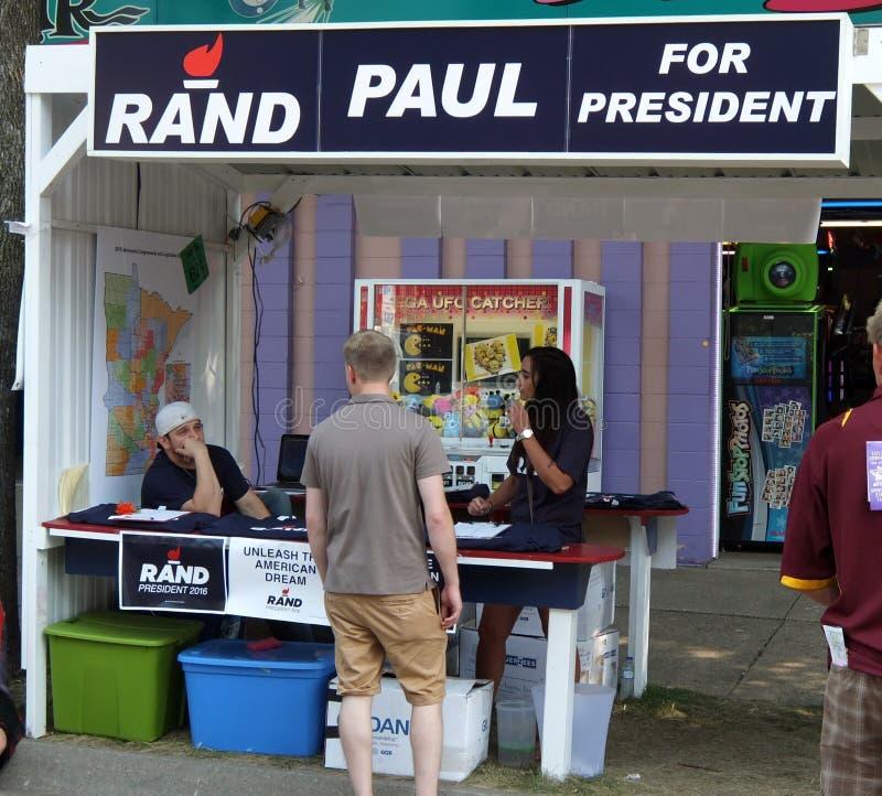 Rand Paul stock afbeelding