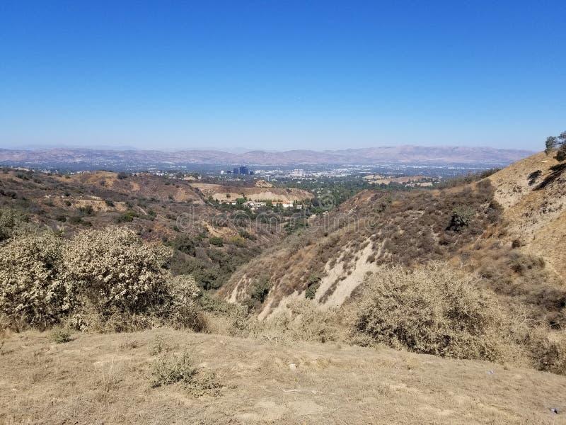Rand van Santa Monica Views royalty-vrije stock afbeelding