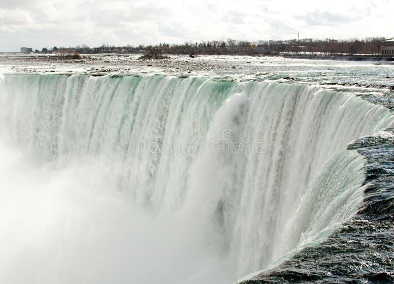 Rand von Niagara Falls stockfotografie