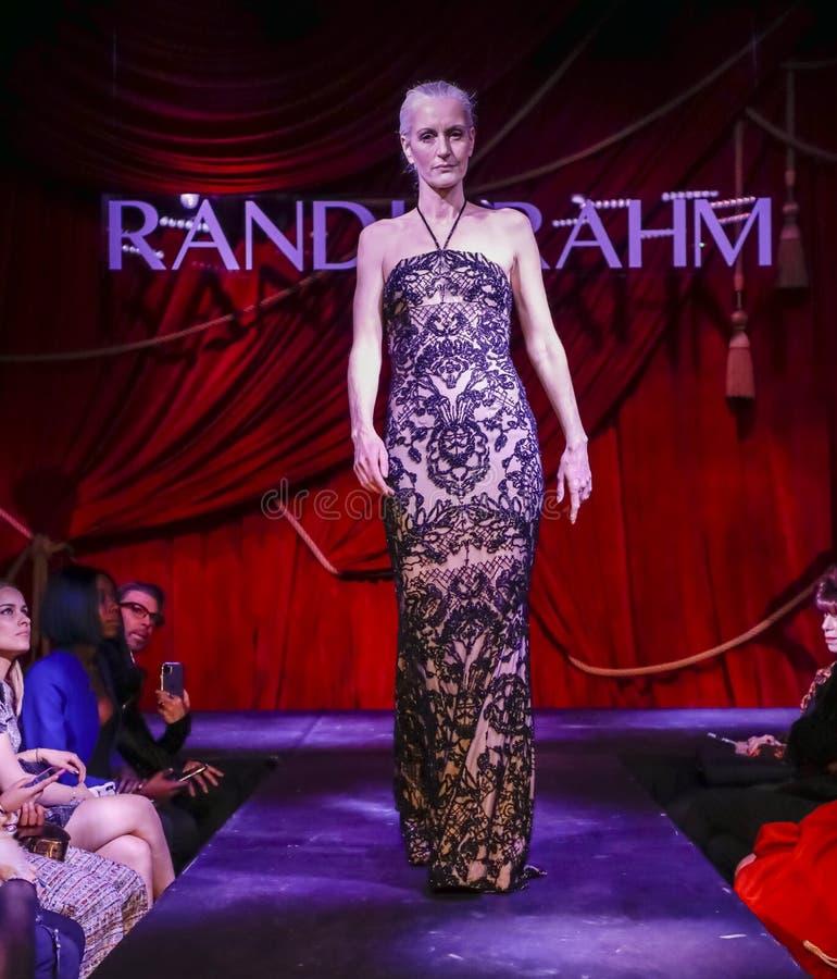 Randi Rahm FW 2020 royalty free stock photos