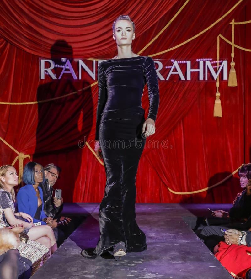 Randi Rahm FW 2020 royalty free stock image