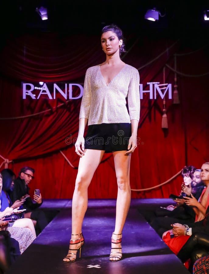 Randi Rahm FW 2020 royalty free stock photography