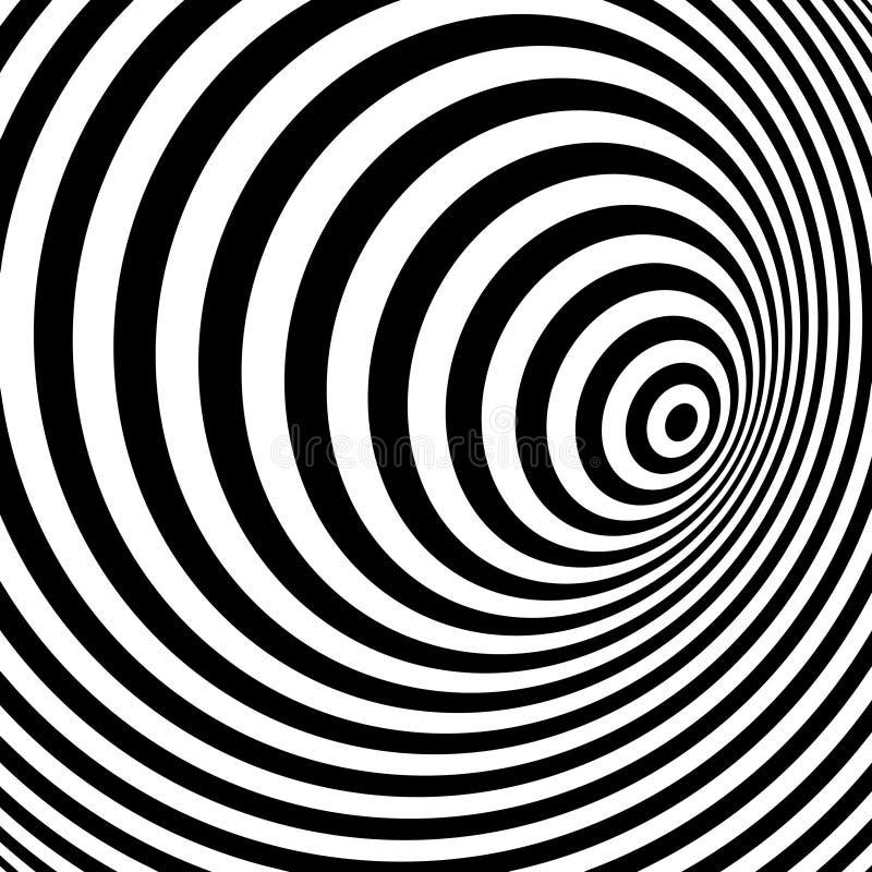 Randig bakgrund för svartvitt abstrakt begrepp royaltyfri illustrationer