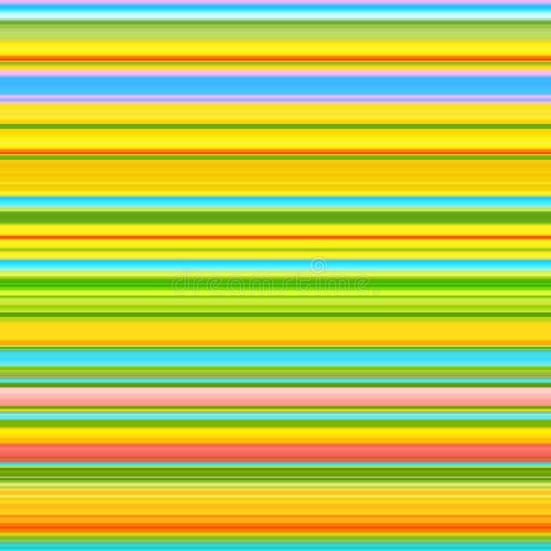 Randig bakgrund för vårfärger abstrakt linjer modell stock illustrationer