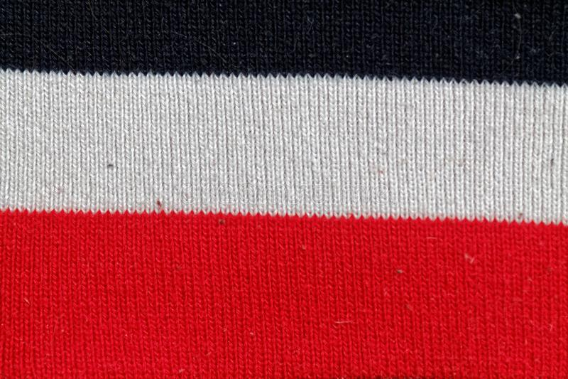 Randig färgrik textur för bomullstyg för bckground royaltyfri foto