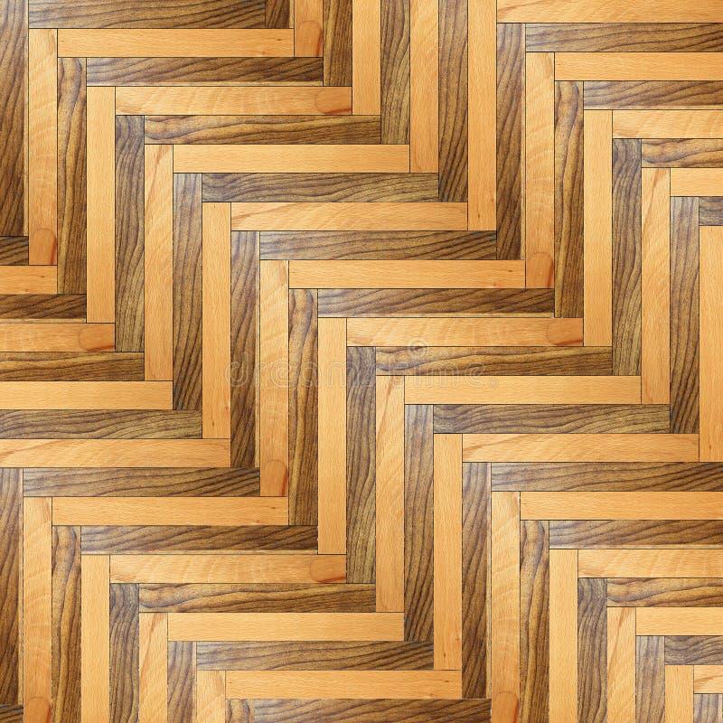Randig modell av det wood golvet arkivfoto