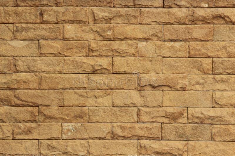 Randig stenvägg royaltyfria bilder
